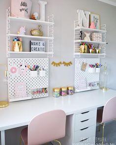 Kids room ideas – Home Decor Designs Kids Homework Room, Kids Study Desk, Homework Station, Desk For Kids, Girl Bedroom Designs, Room Ideas Bedroom, Bedroom Desk, Cozy Bedroom, Modern Bedroom