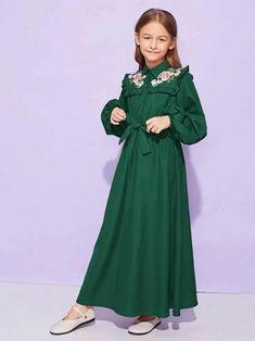girl dresses – Page 9 – gagokid Girls Maxi Dresses, Stylish Dresses For Girls, Cute Dresses, Girls Fashion Clothes, Girl Fashion, Girl Outfits, Fashion Outfits, Tween Fashion, Tee Dress