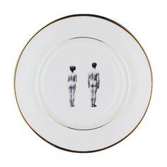 The Models Bone China Plate
