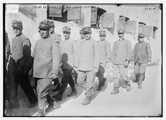 Italian prisoners, Schloss Laibach, Austria  (LOC) by The Library of Congress, via Flickr