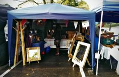 Our stall at Wincanton Town Market, Somerset -  October 2013 Find out more at https://www.facebook.com/woodbyname?ref=hl #farmhouse #Etsy #rustic #reclaimed  #wood #interiors #UK #handmade #design #country #Gift #Christmascraftfair #villagefair #craftfair #traditional
