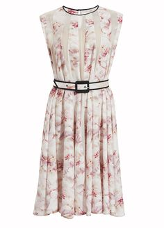 Belted Sleevless Panels Dress | LUBLU Kira Plastinina