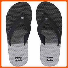 Billabong Men's Dunes Tribong Non Slip Sandal Flip Flop, Black, 8 US/8 M US - Mens world (*Amazon Partner-Link)