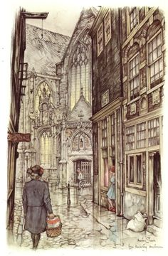 Showcase - Anton Pieck