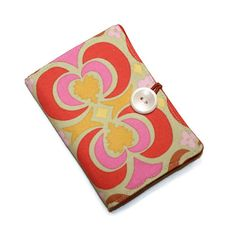Tea Bag Wallet Teabag Envelope Orange Pink by cozylittlecorner, $10.99