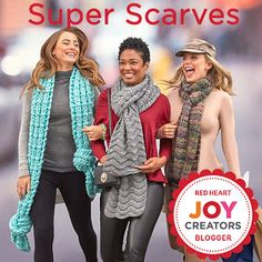 If you follow the trend in the crochet world, you probably know that the super scarves are really hot right now! Super Scarves are regular ...