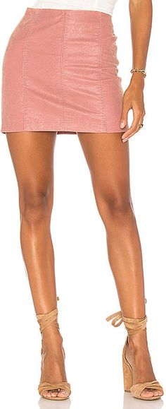 f76e8f3fcd Free People Modern Femme Vegan Suede Mini Skirt Free People Skirt, Vegan  Leather, Suede