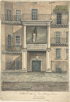 The Duke of Queensbury's House, Piccadilly Anonymous,