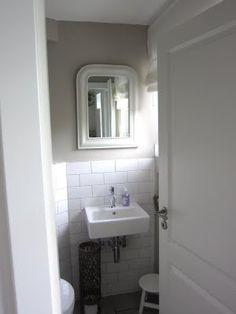 I Like This Plain And Simple Cloakroom Metro Tiles Bathroom 1920s Hall