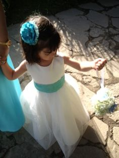 The flower girl!