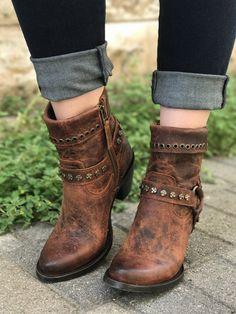 Volle Farbe Australia Luxe Collective Damen Harness Stiefel