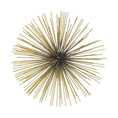 Sunburst Wall Décor - Large | dotandbo.com (try to make this with half round ball or imitation plant foam and use sticks (can spay paint if want)-