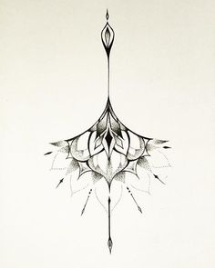 Like this but without the top More #sternum_tattoo_arrow