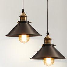Wholesale Vintage Industrial Lighting Copper Lamp Holder Pendant Light American…