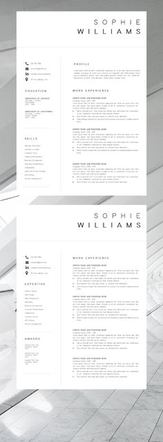 105 Best Executive Resume Template images Cv template, Executive