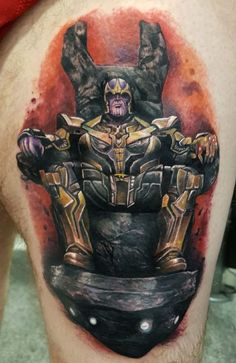 Thanos - Naughty Needles Tattoos