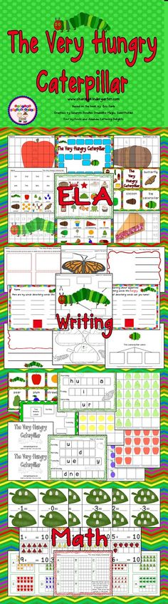 Check out this FUN unit for Insects.