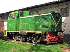 MuromTZ Diesel locomotive from TGM23 series in Kazakhstan
