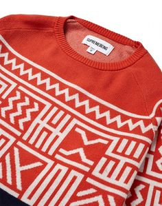 Supremebeing Jumper with fairilse pattern