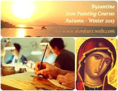 Byzantine Icon painting cources, Autumn - Winter 2015