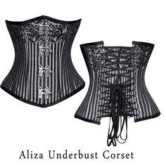 39deee9f73e4 Aliza Underbust Corset, corset, fashion, cloth, dress. Corsets Queen