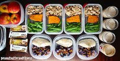 I know it's Tuesday and all, but this is my Meal Prep Monday post…since I was too pooped after spending half of the day in my kitchen yesterday. I just didnt. Fitness Meal Prep, Healthy Meal Prep, Healthy Eating, Healthy Recipes, Healthy Snacks, Fun Recipes, Meal Prep For The Week, Roasted Cauliflower, Chicken Cauliflower