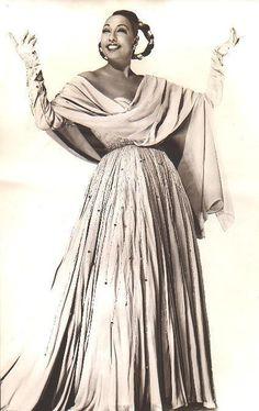 circa 1950's Josephine Baker                              …