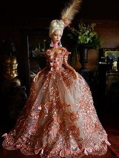 Barbie Fashion Sketches, Fashion Dolls, Lolita Fashion, Barbie Dress, Barbie Clothes, Doll Clothes Patterns, Clothing Patterns, Doll Costume, Barbie Costumes