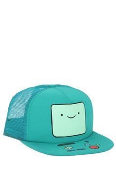 Adventure Time BMO Snapback Trucker Hat | Hot Topic
