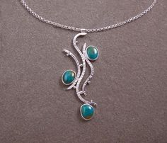 The very first Vine pendant. Sold.