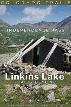 Linkins Lake Trail is short, steep, and gorgeous. For such a small adventure it is packed with everything Colorado. Take a break from the crowds near Aspen, CO, and take in this beauty that starts above the treeline to an Alpine Lake. #Colorado #Hiking Snowshoe, Rafting, Snowboard, Best Hiking Gear, Colorado Trail, Alpine Lake, Travel Usa, Travel Tips, Day Hike