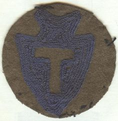 WWI US Army 36th Infantry Division Patch