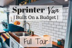 Sprinter Van Tour | Built On Budget | Divine On The road