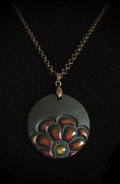 Zinnia Pendant Necklace | vika | Flickr