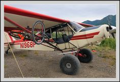 Alaska bush plane, Super Cub photo.