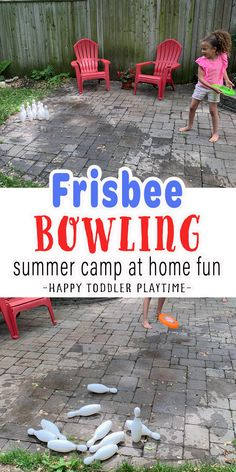 Home Games For Kids, Summer Crafts For Toddlers, Summer Activities For Kids, Kids Diy, Kids Crafts, Motor Skills Activities, Science Activities, Outdoor Activities For Toddlers, Kids Obstacle Course