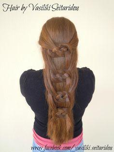 Hair by Vasiliki Seitaridou  www.facebook.com/...