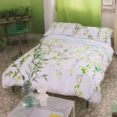 Willow Acacia Bed Linen | Designers Guild