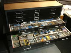 organize your stuff so you can easily find it. A very nice organize board to fits any electricians needs. http://BestElectriciansMiami.com