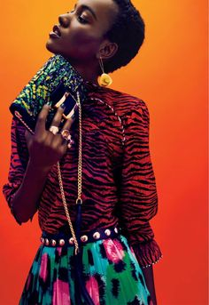 Herieth Paul by Billy Kidd for Glamour US December 2016