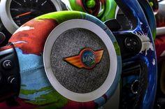 MINI Art: MINI's Most Colorful Art-Inspired Creations   ART CAR   Dream Car   Cars   Art   Rainbow car