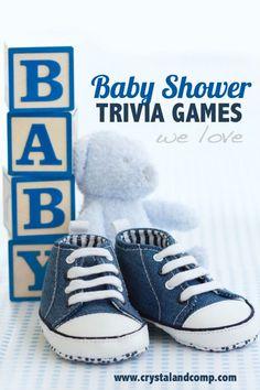 9 DIY Baby Shower Trivia Games