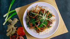 Stir-Fry Beef with Broccolini and Tangerine or Blood Orange