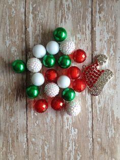 DIY Chunky necklace kit.. Chunky bead by Girlznglittersupply