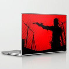 "The Walking Dead Rick Laptop 13""/15""/17"" Skin by RobozCapoz - $25.00"