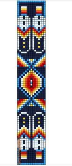 Indian Beadwork, Cuisines Design, Loom Patterns, Native American Indians, Bracelet Patterns, Nativity, Jewelery, Beading, Kids Rugs
