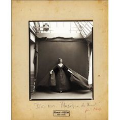 """$995.00  Richard Avedon: Made in France: This major new monograph stands as an important rediscovery of a small but central body of work in the career of one of the world's best known and beloved photographers. The Richard Avedon images presented here, many for the first time, were made in Paris for """"Harper's Bazaar"""" during the 1950s."""