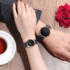 Charm Jewelry CHENXI Rose Gold Watch Women Quartz Wristwatches Luxury Brand Couple Watches Mesh Belt Bracelet Waterproof Clock Men reloj mujer From Touchy Style Outfit Accessories ( rose gold white men ) Cool Watches For Women, Best Kids Watches, Fitness Watches For Women, Fancy Watches, Gold Watches Women, Simple Watches, Trendy Watches, Cheap Watches, Expensive Watches