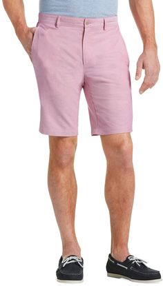408b47393a7 1905 Collection Tailored Fit Oxford Shorts CLEARANCE