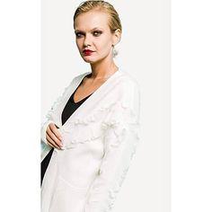 Sans Marque Gilet En Laine Court Femme - Blanc - Prix pas cher   Jumia DZ 57a645d99651
